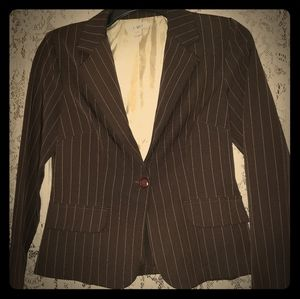 Ladies CATO Chocolate Brown Blazer Sz. 8